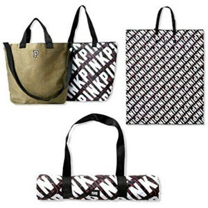 VS 3pc set 1 Canvas Tote 1 Cooler 1 Beach Blanket